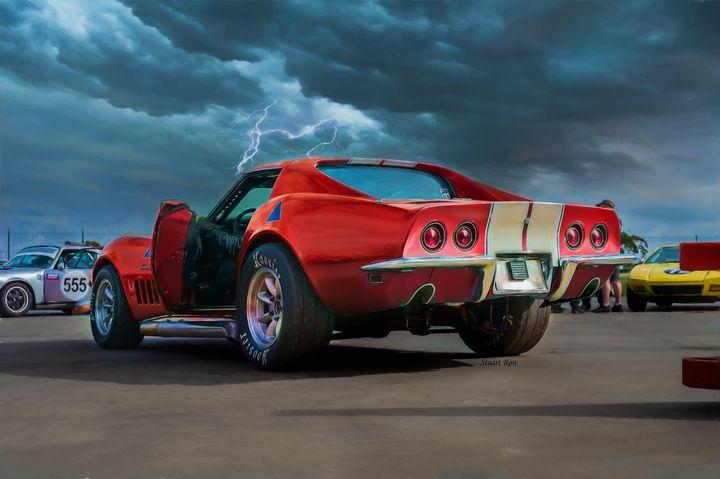 Little Red Corvette - Transchroma Photography