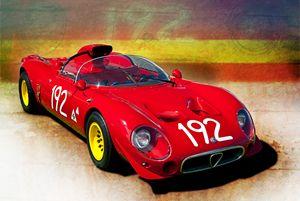 1967 Alfa Romeo Tipo 33/2 - Transchroma Photography