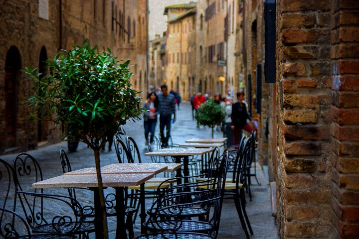 Streets of San Gimignano - Transchroma Photography
