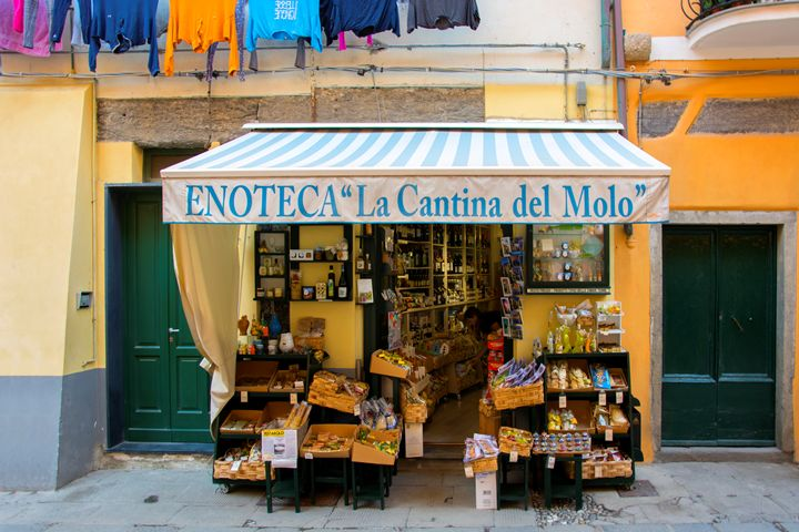 Cinque Terre Store - Transchroma Photography