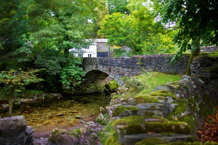 Ambleside Bridge - Transchroma Photography
