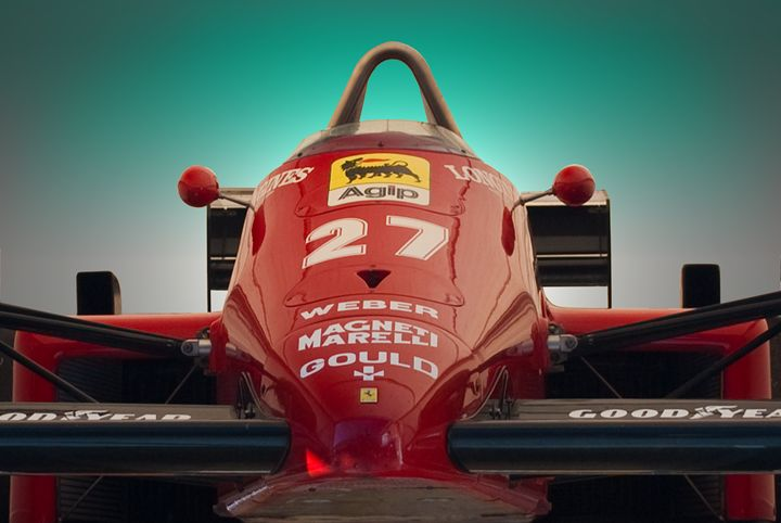 1985 Ferrari 156/85 F1 Nose - Transchroma Photography