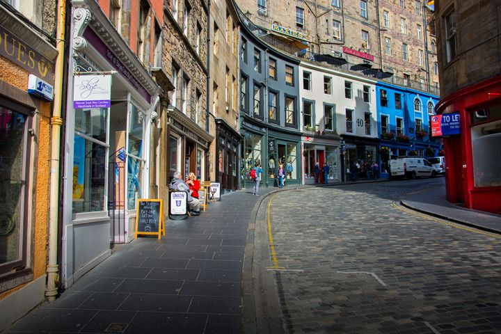 Edinburgh Street - Transchroma Photography