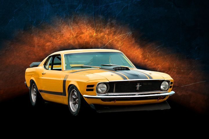 Boss 302 Mustang - Transchroma Photography