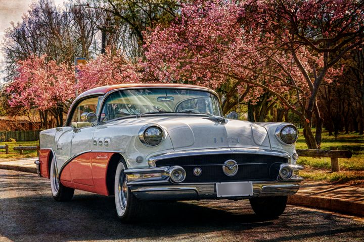 1956 Buick Two Tone - Transchroma Photography