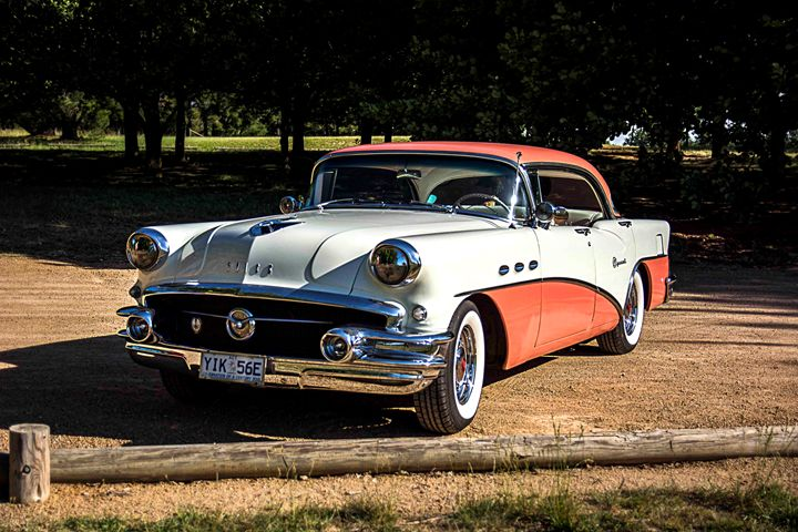 1956 Two Tone Buick - Transchroma Photography