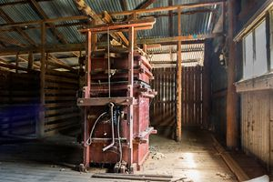Wool Baling Equipment - Transchroma Photography