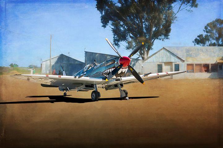 Supermarine Spitfire Mk VIII - Transchroma Photography
