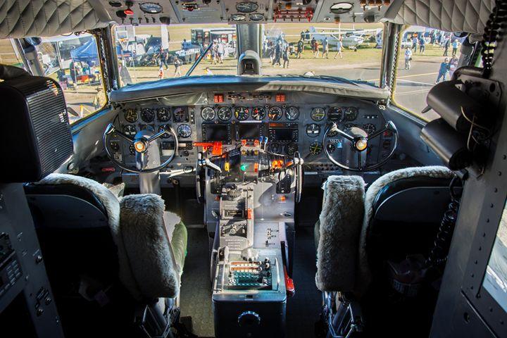 Convair 440 Cockpit - Transchroma Photography
