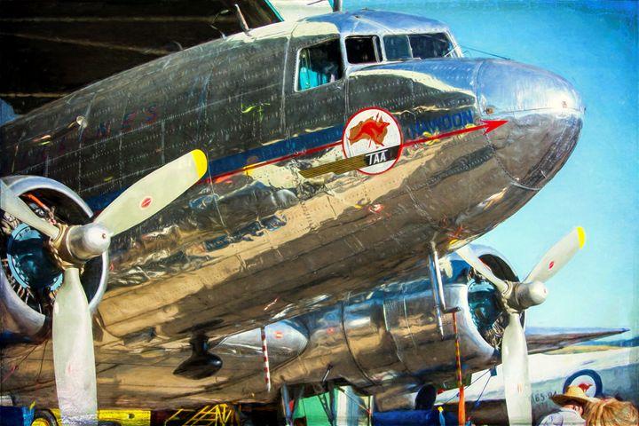 Douglas DC3 Front - Transchroma Photography
