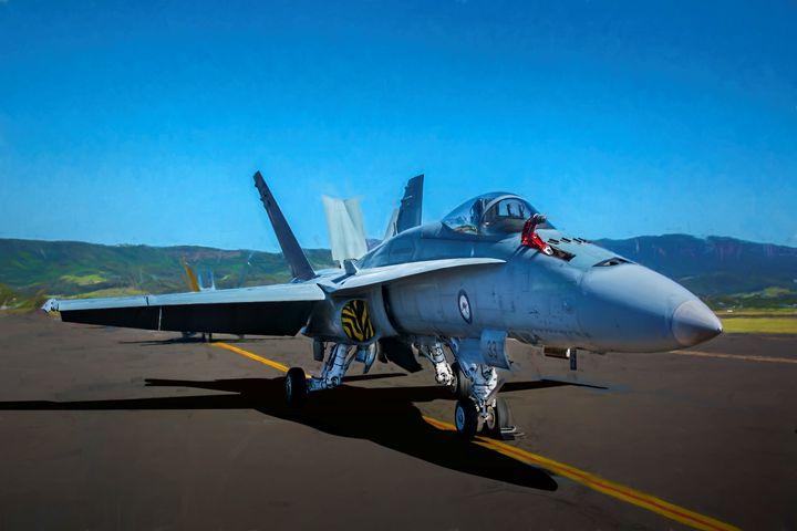 FA18 Hornet - Transchroma Photography