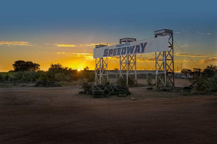 Broken Hill Speedway - Transchroma Photography