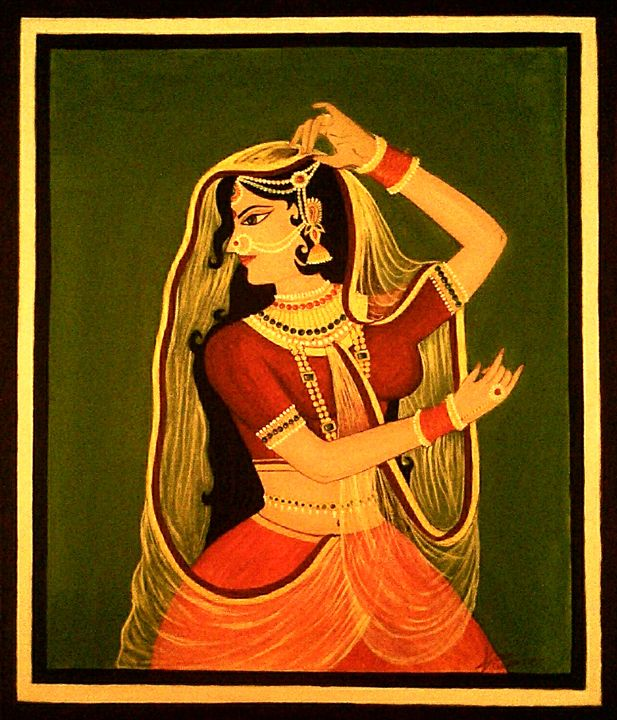 Queen of royal India - SSK Art Gallery