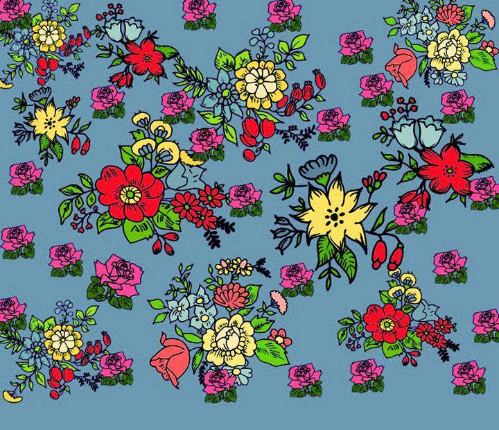 flowers - Maya