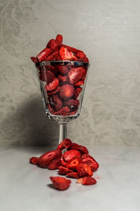 Freeze Dried Strawberries - S. Johnson