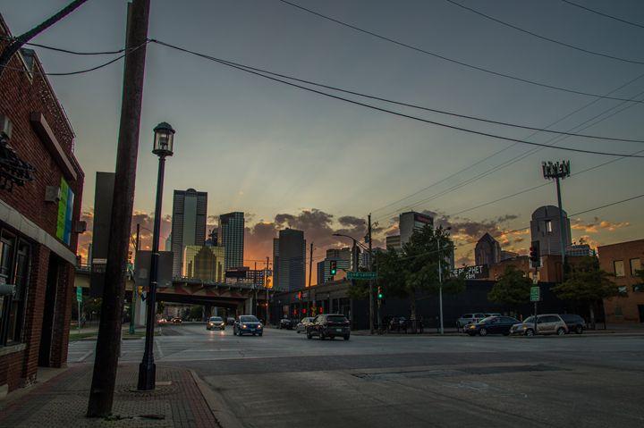 Sunset over Dallas - S. Johnson
