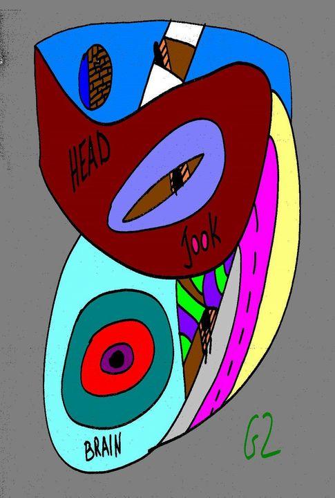 Head-Jook-Brain - Gizi Zuckermann