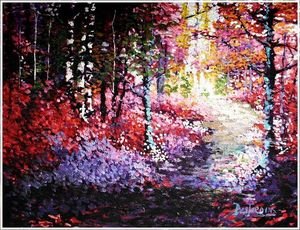 Autumn Serenity - Art by Timothy DesJardins