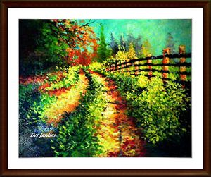 Pasture Road - Art by Timothy DesJardins