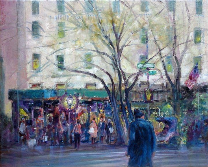 Plaza Hotel, New York City - New York Art Collection | Hall Groat Sr. & II