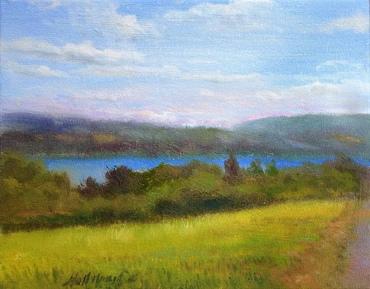 Keuka Lake, Wine Country, New York - New York Art Collection | Hall Groat Sr. & II