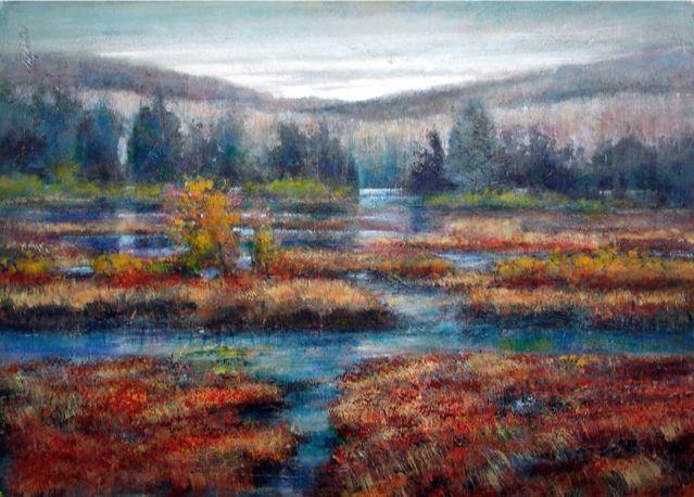 Adirondack Marshlands, Upstate New - New York Art Collection | Hall Groat Sr. & II
