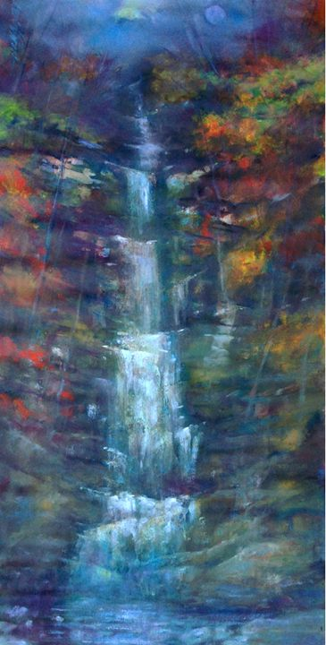 Buttermilk Waterfall New York - New York Art Collection | Hall Groat Sr. & II