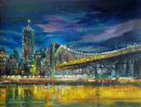 Manhattan Bridge, New York City 18x2