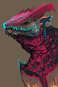 Drega - Digital Art by OneLayerMan