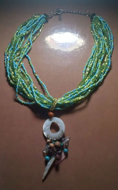 Mermaid necklace - Fletcher's Fantasy Art and Accessories