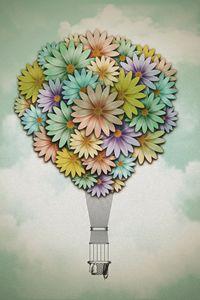Hot Air Bouquet - Tyler Genovese Art