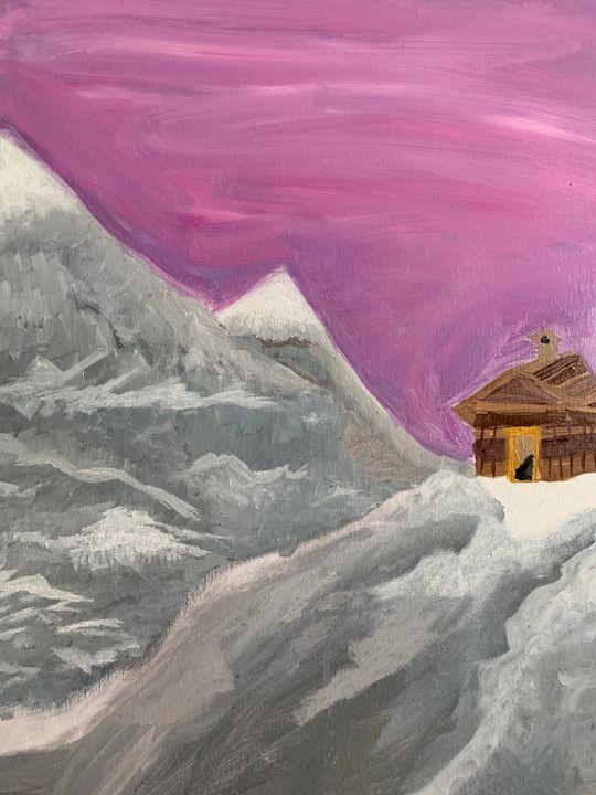 Fantasy mountain - TheBlueStorm