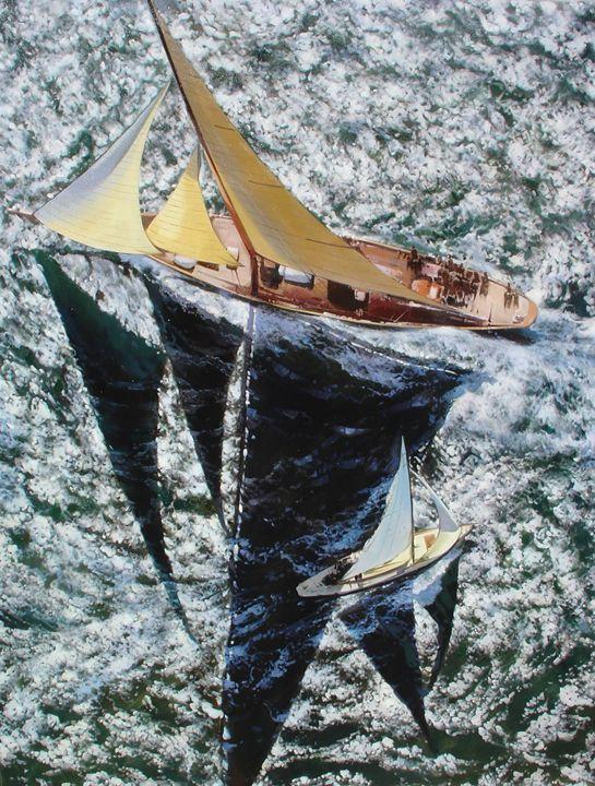 Sailing Passing - Lucia Amitra