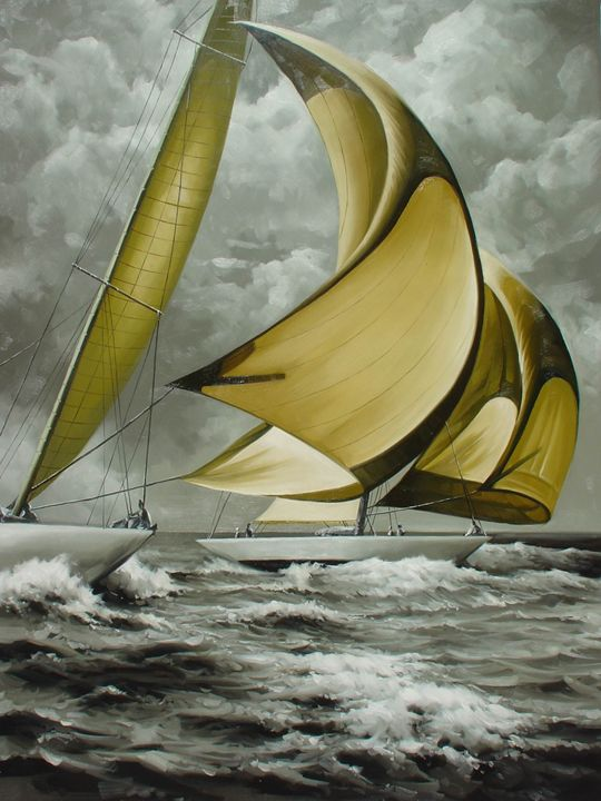Stunsails Wide - Lucia Amitra