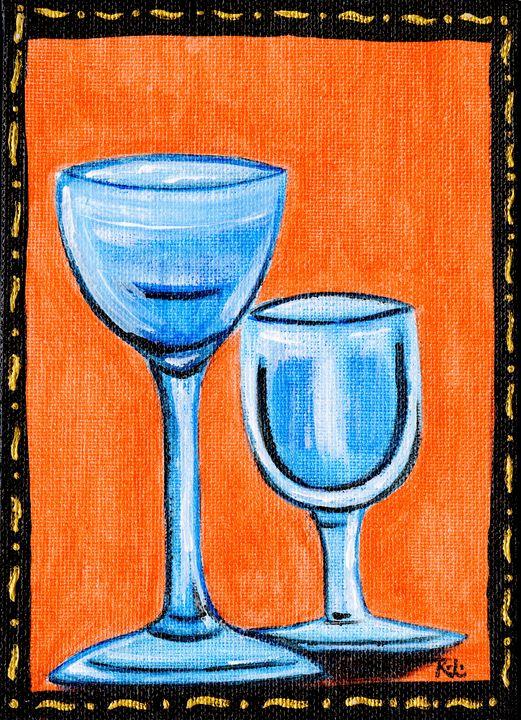 Small Wine Glasses - Rolo