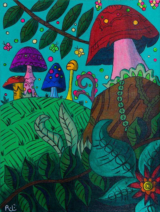 Trippy Landscape - Rolo