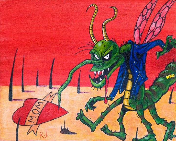 Cartoon Mosquito - Rolo