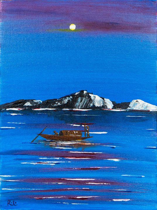 Moonlit Boat - Rolo