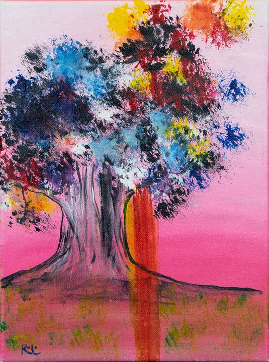 Painted Tree - Rolo