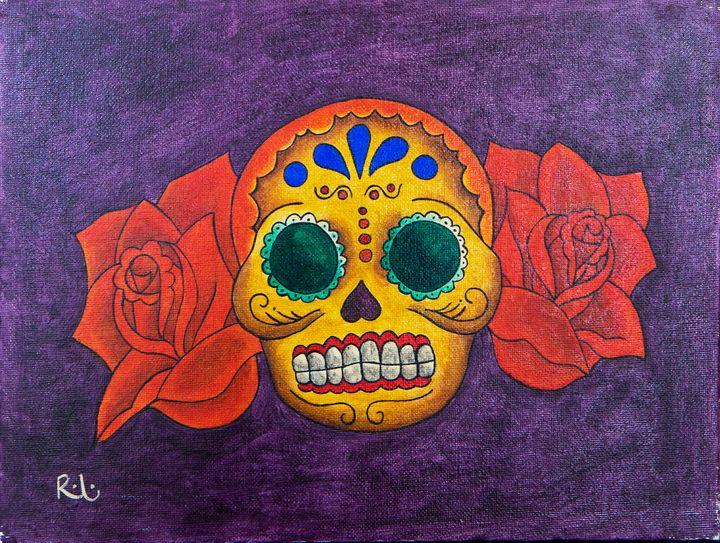 Purple Skull - Rolo