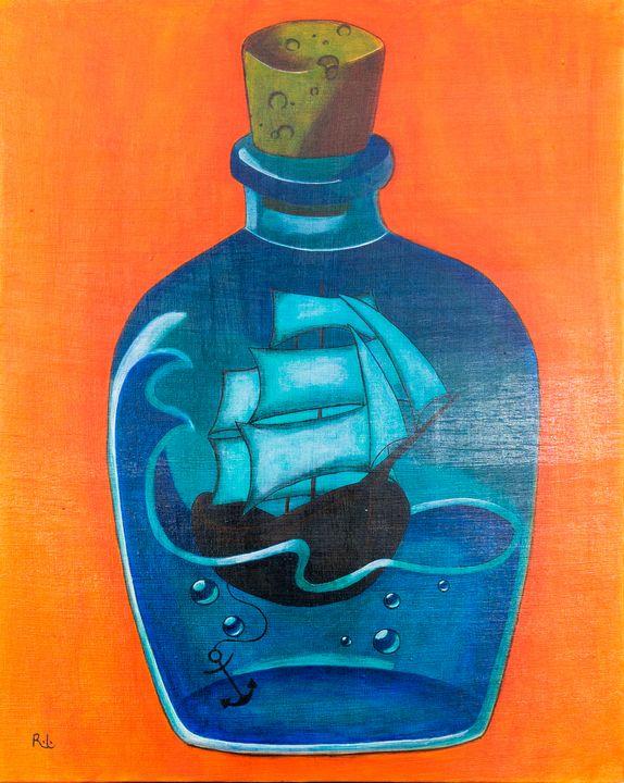 Ship in a Bottle - Rolo