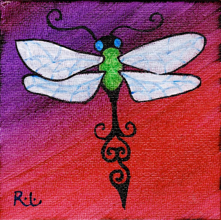 Small Dragonfly - Rolo