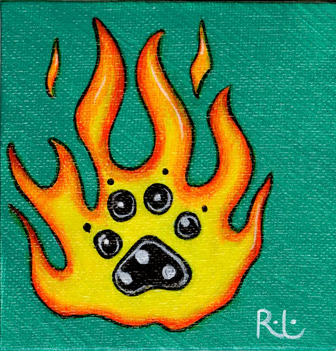 Small Fire Paw - Rolo