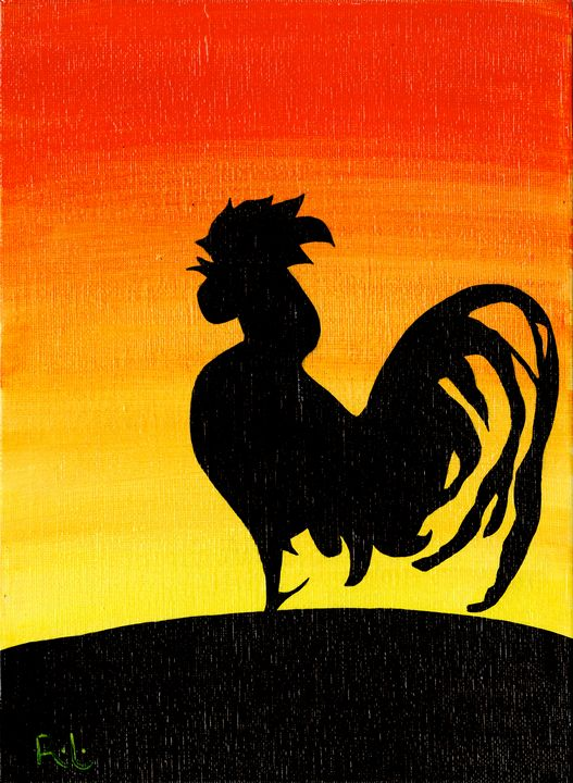 Small Rooster - Rolo