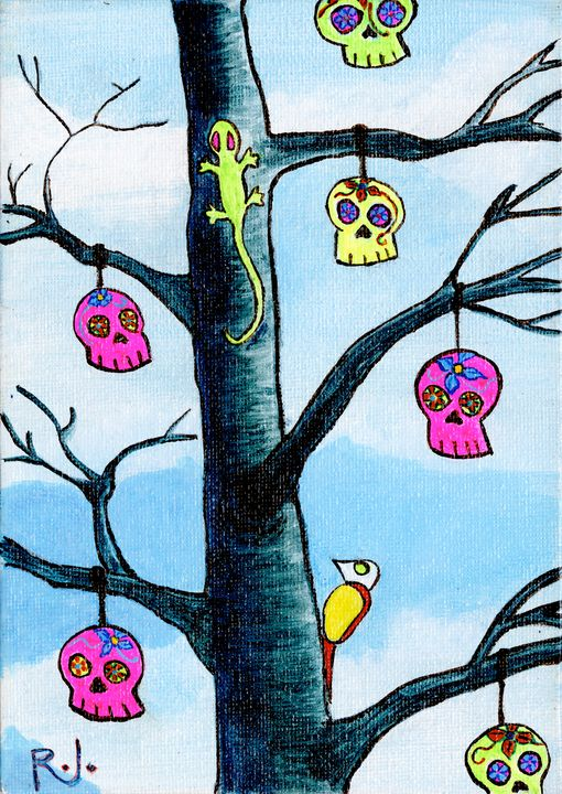 Small Skull Tree - Rolo