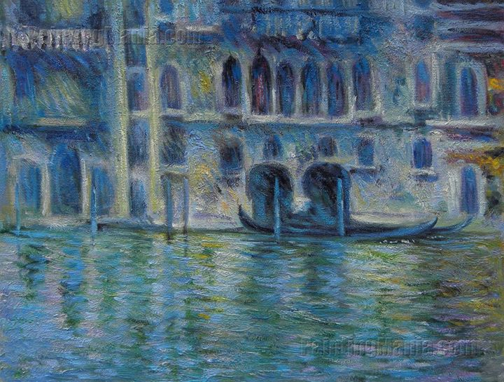 Palazzo da Mula. Venice,Monet Arts - PaintingMania