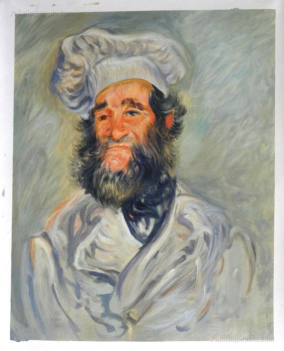 The Chef, Pere Paul,Monet Painting - PaintingMania