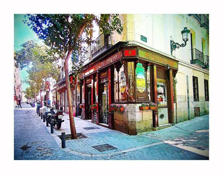 Madrid II - Digital and with Art