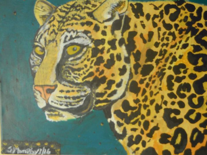 Leopard Painting - Murphy Art & Soul