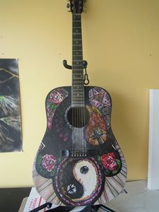 Hand Painted Acoustic